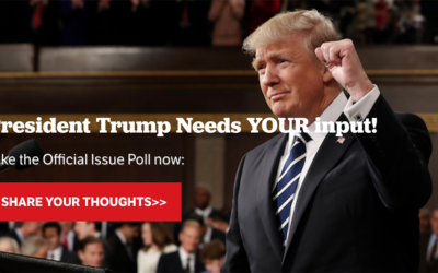 President Trump Needs You Input – Share Your Thoughts